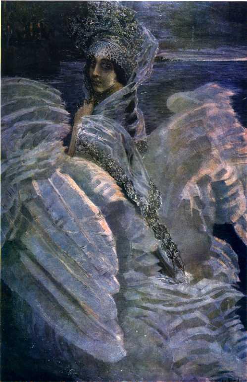 Михаил Врубель. Царевна-Лебедь. 1900