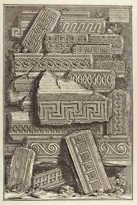 Пиранези. Фризы этрусских гробниц
