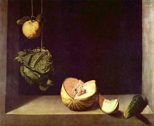 Хуан Санчес Котан. Натюрморт с тыквой. ок. 1600-1602 г.
