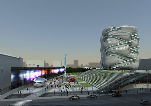 Новое здание Государственного центра современного искусства (ГЦСИ)