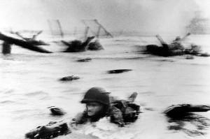 Высадка союзников в Нормандии. 1944 год.