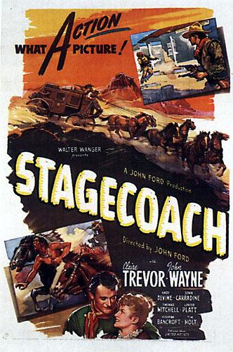 """""""Дилижанс"""" Stagecoach (1939)"""