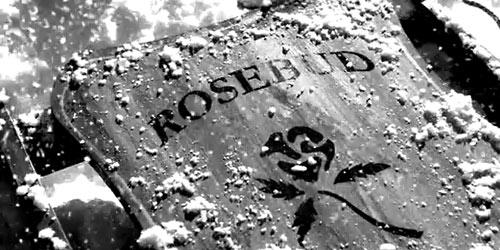 """Rosebud (Розовый бутон) из фильма """"Гражданин Кейн"""""""