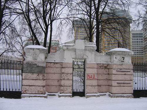 Последний вид на ограду
