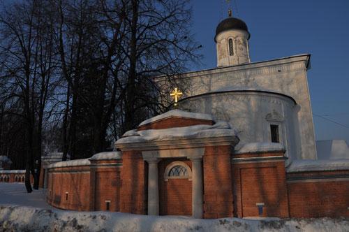 Ограда Спасского храма села Прохорово. В. И. Якубени. 2008 - 2009.