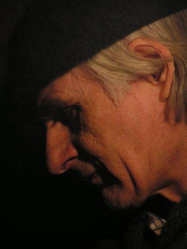 В. И. Якубени на объекте. Троицкий храм села Троицкое, 2004.